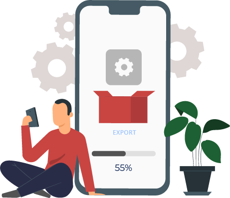 Export data for cleaning services